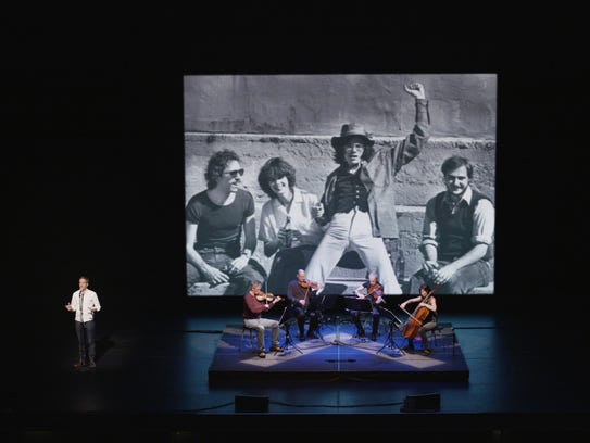 Sam Green and Kronos Quartet: A Thousand Thoughts Live