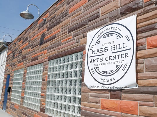 The Mars Hill Art Center, 2811 Mars Hill St., in the Mars Hill neighborhood of Indianapolis on Thursday, July 12, 2018.