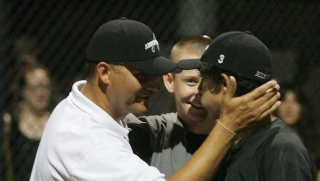 Lance Billingsley coached Arrowhead to the Little League state title in 2009.