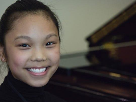Katherine Liu, 12-year-old pianist