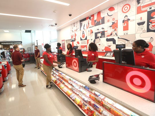Target welcomed invited guests to a store preview on Tuesday, July 17.