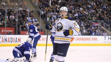Sabres' Eichel shows how far he's come in leadership department