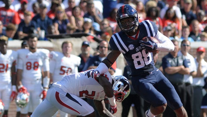 Ole Miss wide receiver Cody Core has accepted an invitation to play in the East-West Shrine Game.