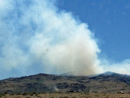 hunter falls fire