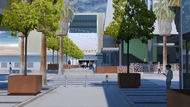 Palm Springs Architectural Advisory Committee turns down design for new Hyatt entrance