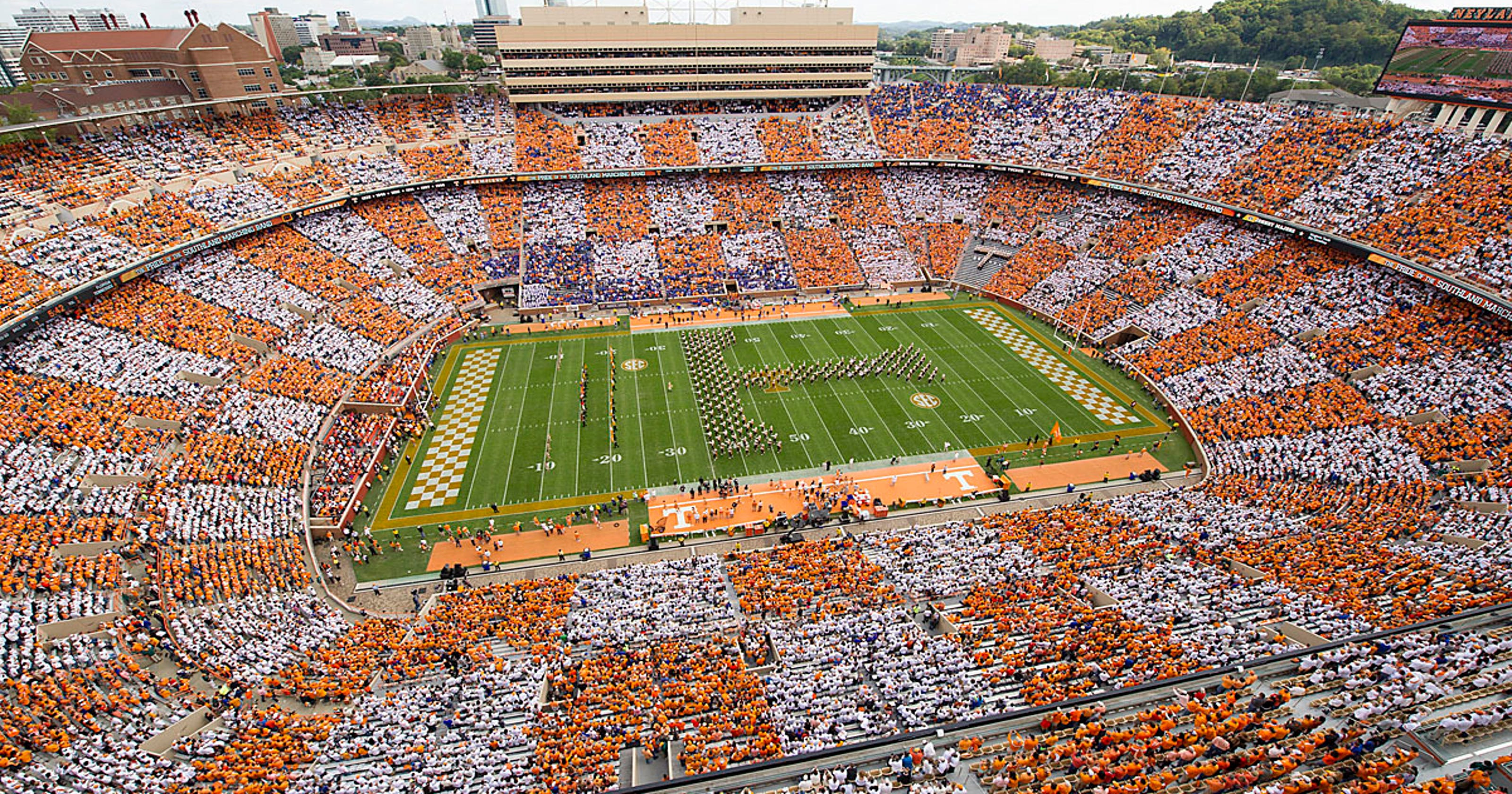UT Vols football: Neyland Stadium upgrades on hold ...