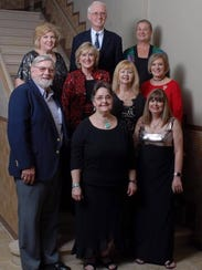 Members of the Abilene Music Teachers Association executive