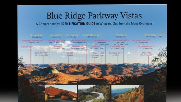 """A third, expanded edition of """"Blue Ridge Parkway Vistas"""""""