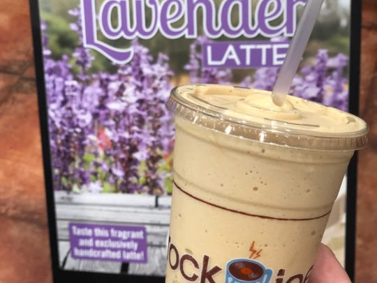 At Rock 'n' Joe's Coffee Bar in Westfield, any of their coffee creations can be made iced or hot, but one drink — the Lavender Latte — stands outfor its one-of-a-kind flavor. Creamy and flowery, the drink has been described as a day at the spa.