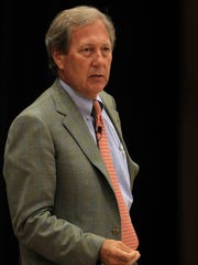 J. Bruce Harreld speaks to University of Iowa community