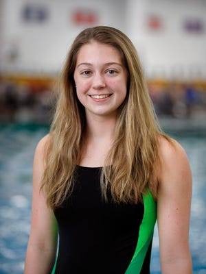 Floyd Central swimmer Lauren Thompson was voted the winner of the Courier-Journal Southern Indiana Athlete of the Week Award presented by Norton Sports Health.