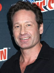 'X-Files' star David Duchovny swung by New York Comic-Con
