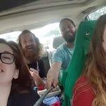 Car singalong goes bad