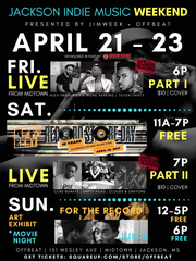 Jackson Indie Music Weekend is hosted at Offbeat Friday and Sunday.