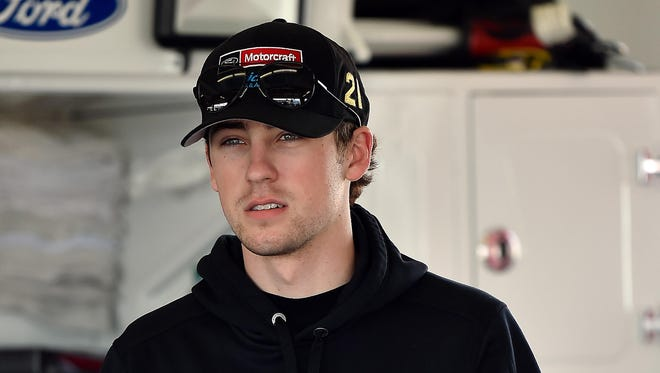 Ryan Blaney wishes he could run the 2015 Xfinity race at Indianapolis over again. Blaney lost to Kyle Busch on last-lap pass.