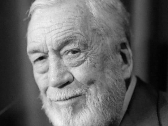 Portrait taken 18 May 1984 of American film director
