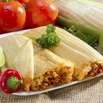 Mexican tamales.