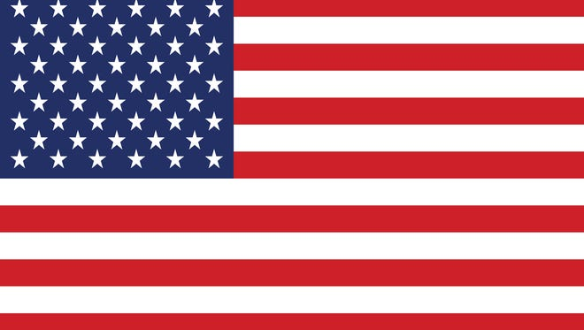 An image of the American (U.S.) flag