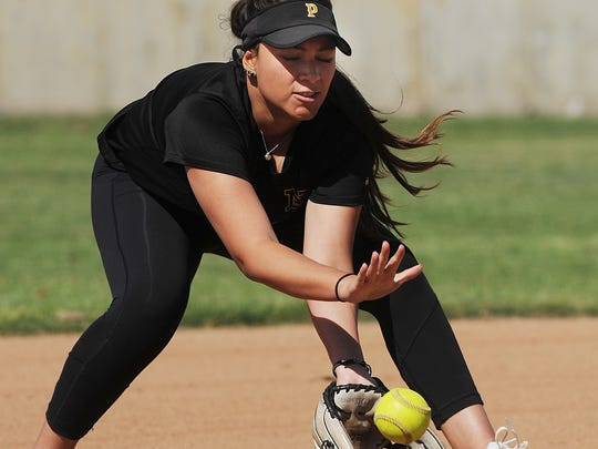 Paige Barth has been one of the stars of talented Newbury Park softball team. The Panthers have reached the Division 2 quarterfinals.