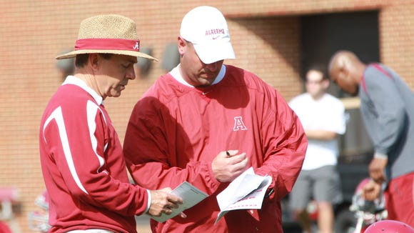 Nick Saban and Jeremy Pruitt worked together for six
