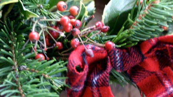 Faithful wreath-inside