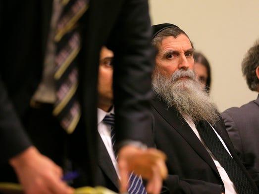 Lakewood Rabbi Osher Eisemann, formerly head of SCHI