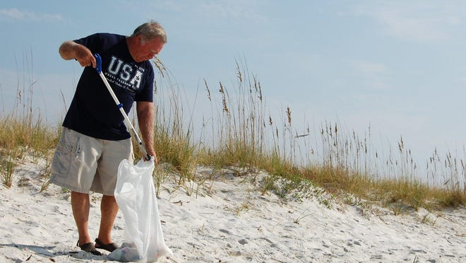This Saturday and the next, hundreds of volunteers throughout Santa Rosa County will participate in the Great American Cleanup, a nationwide effort in celebration of Earth Day, hoping to remove as much litter as possible from the county's beaches, trails, rivers and roadsides.
