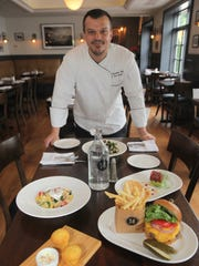 Chef Eric Woods at 14 and Hudson in Piermont
