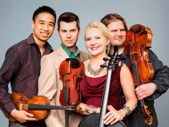 The string quartet Ethel performs Friday at the University