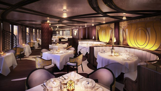 Regent Seven Seas offers a sneak peek at Chartreuse, the French restaurant that will debut on the Seven Seas Explorer.