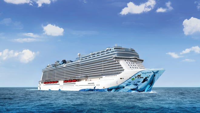 A sister ship to Norwegian Cruise Line's latest ship, Norwegian Joy, to be called Norwegian Bliss, is scheduled to debut in 2018. Carrying 4,000 passengers at double occupancy, it'll sail in Alaska and the Caribbean.