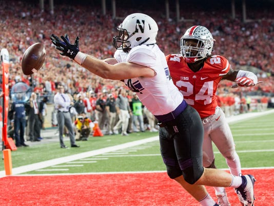 NCAA Football: Northwestern at Ohio State