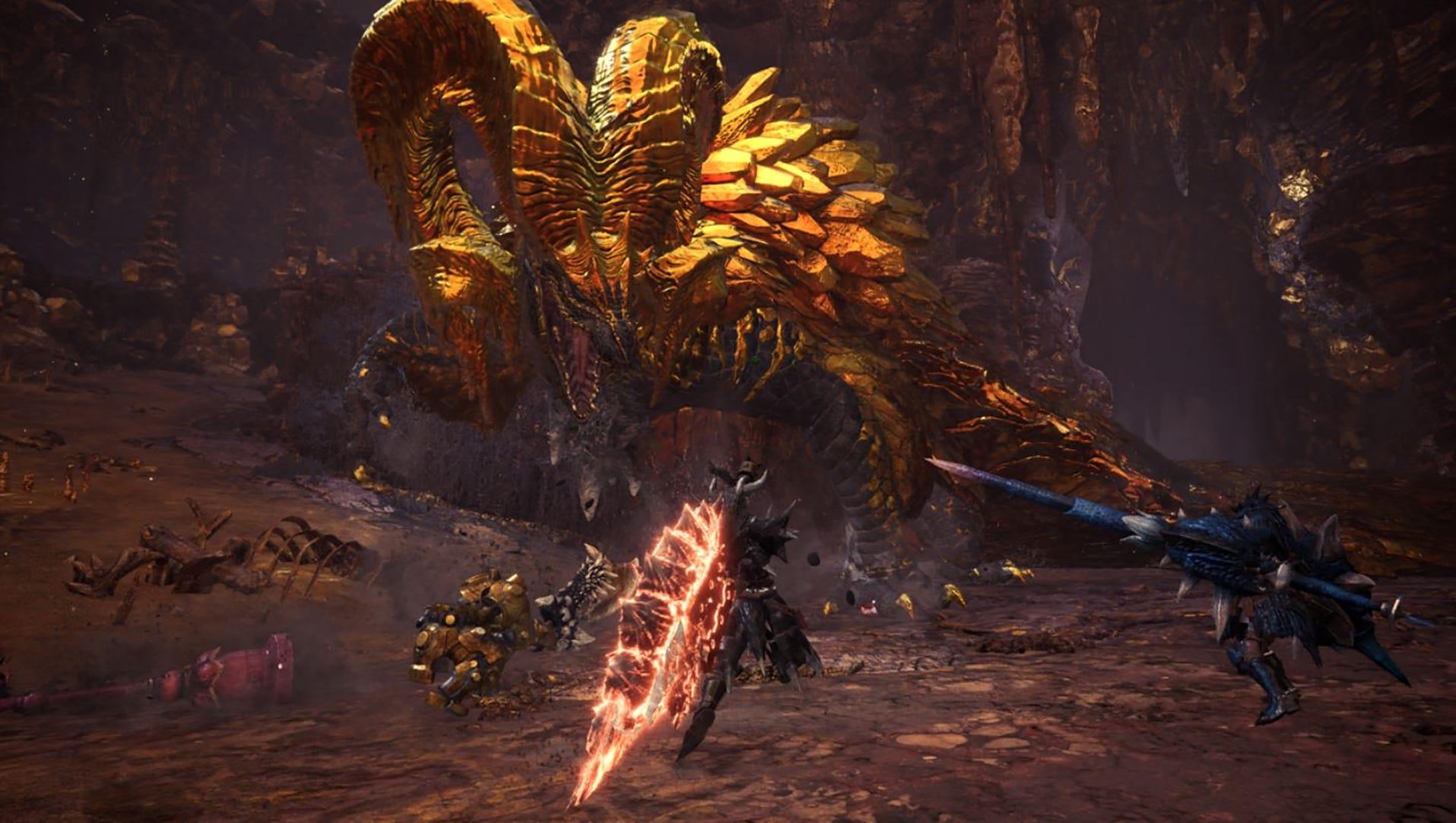 Devs Walk Through Gorgeous Kulve Taroth Fight In Monster Hunter World Home » game guides » monster hunter world » monster hunter world: kulve taroth fight in monster hunter world