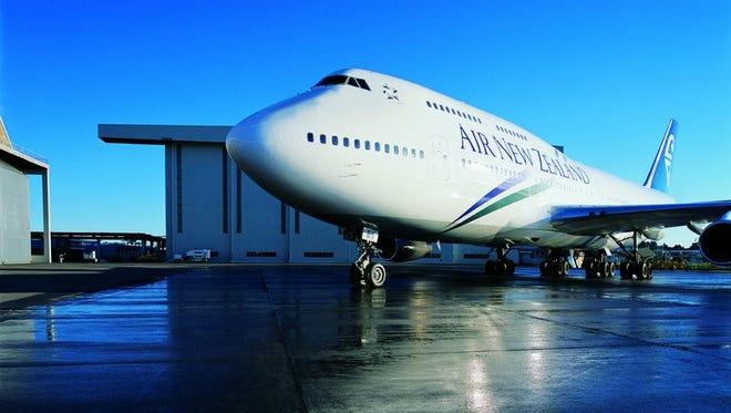A photo provided by Air New Zealand of one of its Boeing 747 aircraft.