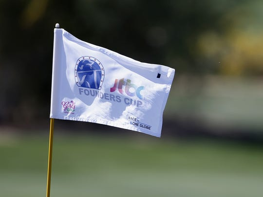 The LPGA JTBC Founders Cup is held at the Wildfire Golf Club in Phoenix.