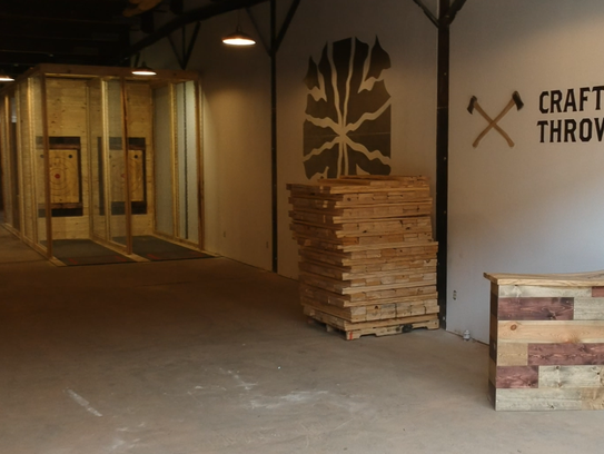 Craft Axe Throwing is expected to open in Greenville's