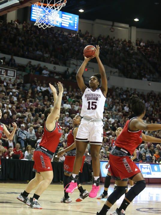 MSU-Nicholls Women's Basketball