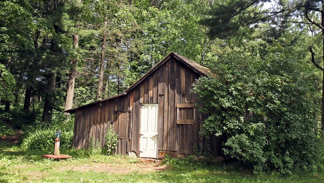 """Aldo Leopold and his family spent summers at this shack on the Wisconsin River, restoring the land there. That restoration served as inspiration for his book """"A Sand County Almanac."""""""