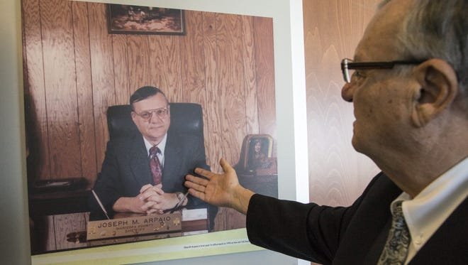 Maricopa County Sheriff Joe Arpaio is proud that Joe Arpaio is now the longest-serving sheriff in county history.