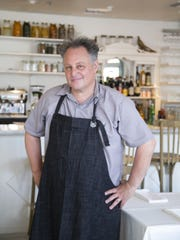 Restaurateur and chef Chris Bianco in his restaurant,