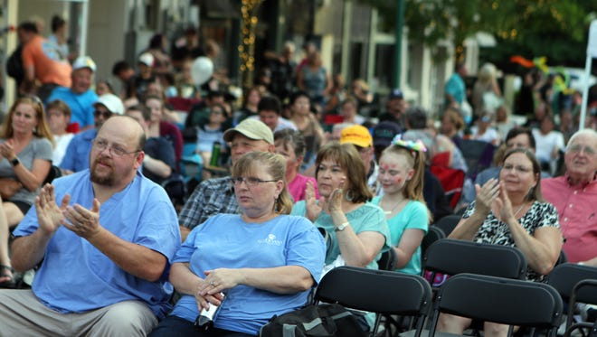 The Nightmasters opened the 2018 season of Jammin' in the Alley Friday night.