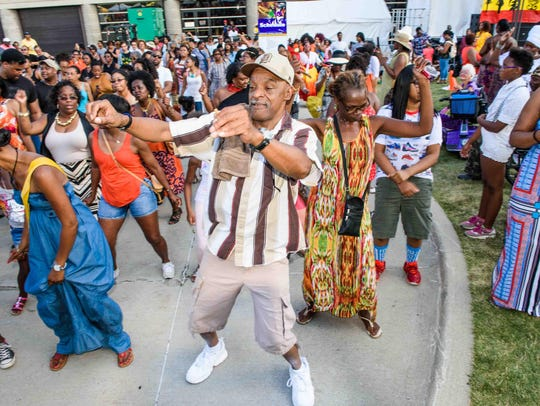 The African World Festival takes place at the Charles