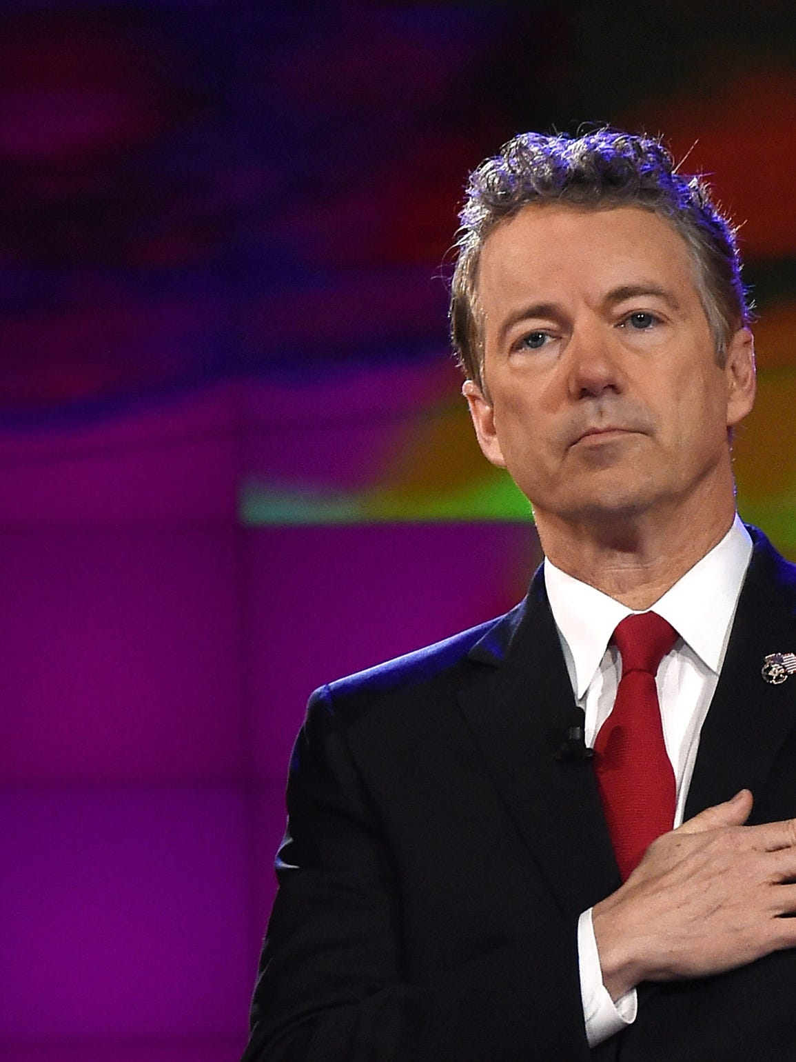 Presidential candidate Sen. Rand Paul, R-Ky., says