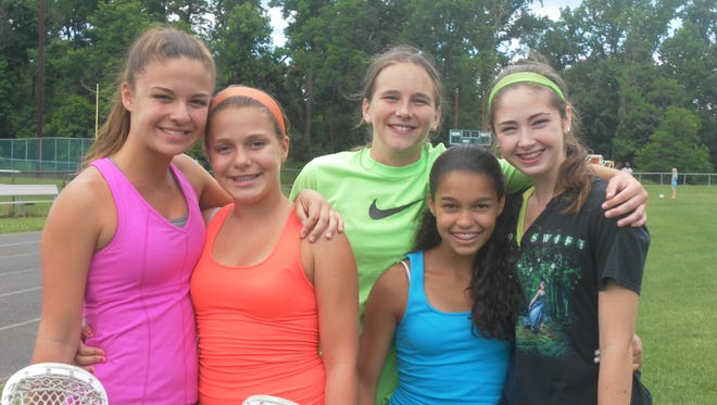 Campers enjoy the sports and the friendships they share at RCC and the friendships they share at RCC.