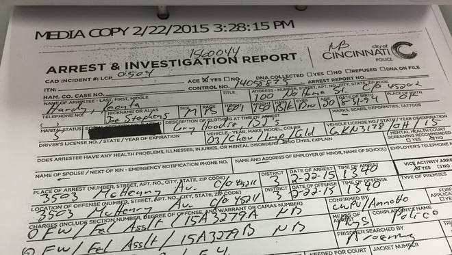 100 No Home Street. That's the address police listed for double shooting suspect Keonta Hardy on his Sunday arrest slip.