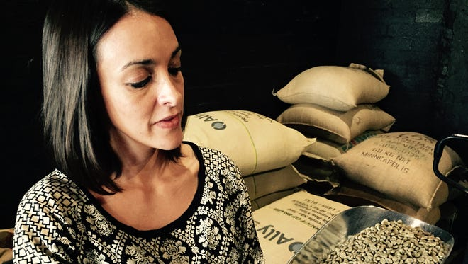 Julia Peixoto Peters, who opened her Chandler coffeehouse in January, will be among the speakers April 9.