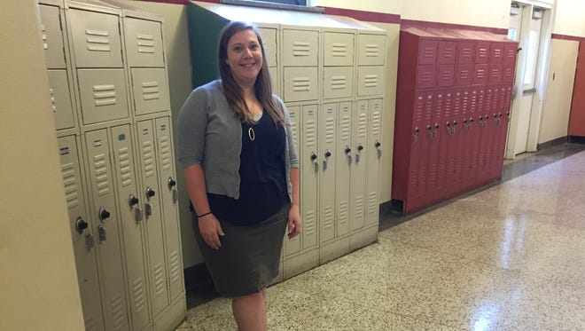 Asheville High teacher Amanda Schoonover likes that the expectations are clear when it comes to dress at the high school.