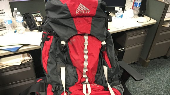 The Kelty backpack that went to Nepal and back.