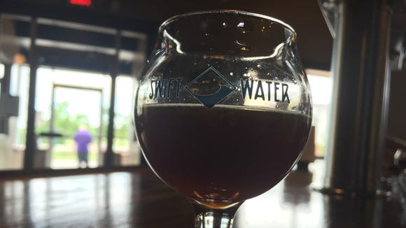 Swiftwater Brewing's Sweet Cherry Brown Ale.