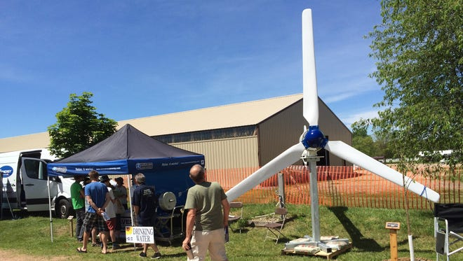 The 26th annual Energy Fair, held at the Midwest Renewable Energy Association's ReNew the Earth Institute in Custer, kicked off on Friday. About 15,000 attendees are expected to attend the event this weekend.